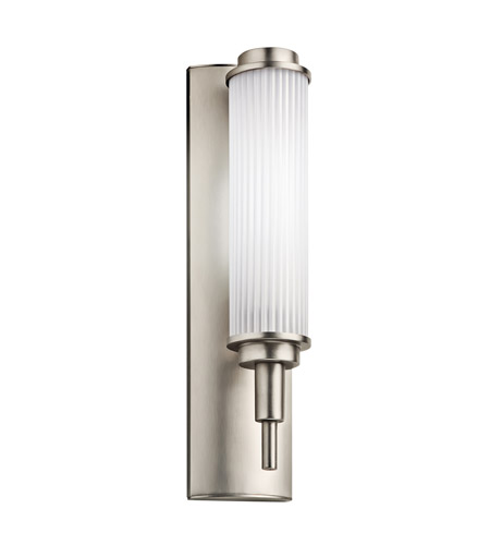 Kichler Lighting Allegre 1 Light Fluorescent Sconce in Satin Nickel 11108SN