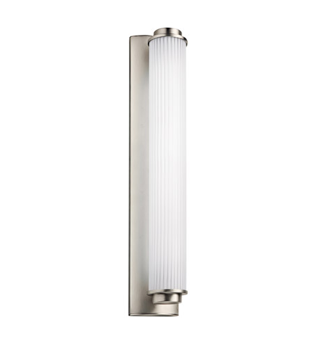 Kichler Lighting Allegre 1 Light Fluorescent Bath Vanity in Satin Nickel 11109SN