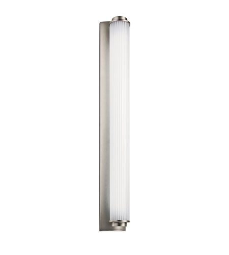 Kichler Lighting Allegre 1 Light Fluorescent Bath Vanity in Satin Nickel 11110SN