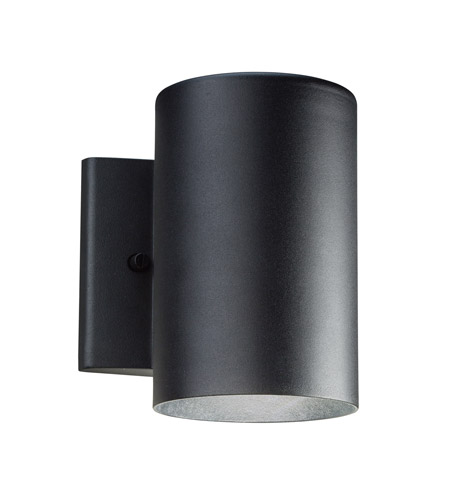 Kichler Lighting Signature Small Outdoor Wall Lantern in Textured Black 11250BKT photo