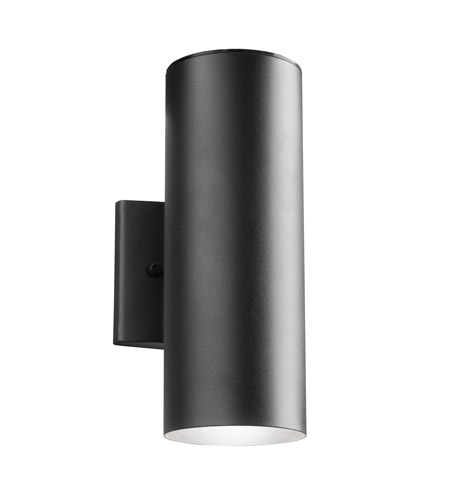 Kichler Lighting Signature LED Small Outdoor Wall Lantern in Textured Black 11251BKT