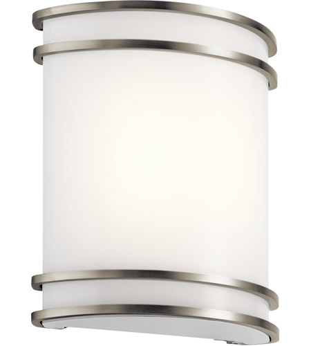 Signature Led 10 Inch Brushed Nickel Wall Sconce Light