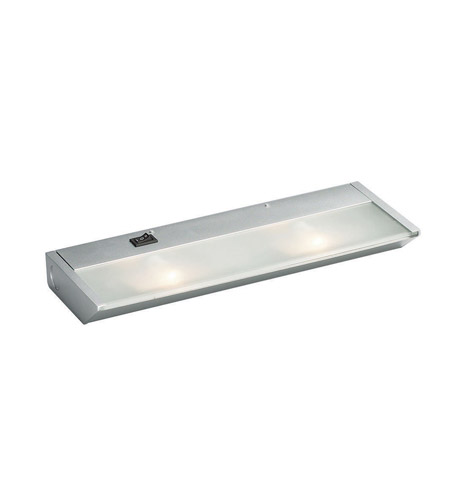 Kichler Lighting Direct-Wire 2Lt Xenon 120v/20w Cabinet Strip/Bar Light in Silver Various 12012SI