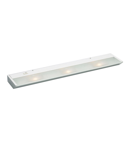 Kichler Lighting Direct-Wire 3Lt Xenon 120v/20w Cabinet Strip/Bar Light in White 12013WH