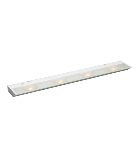 Kichler Lighting Direct-Wire 4Lt Xenon 120v/20w Cabinet Strip/Bar Light in White 12014WH photo