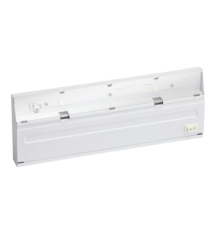 Kichler Lighting Direct-Wire 2Lt LED Undercab Cabinet Strip/Bar Light in White 12056WH