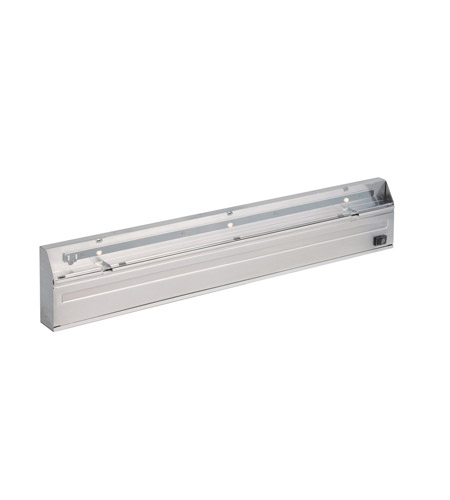 Kichler Lighting Direct-Wire 3Lt LED Undercab Cabinet Strip/Bar Light in Stainless Steel 12057SS