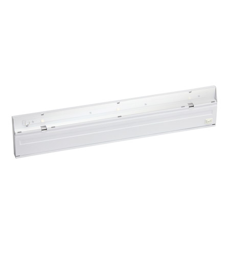 Kichler Lighting Direct-Wire 3Lt LED Undercab Cabinet Strip/Bar Light in White 12057WH photo