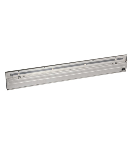 Kichler Lighting Direct-Wire 4Lt LED Undercab Cabinet Strip/Bar Light in Stainless Steel 12058SS