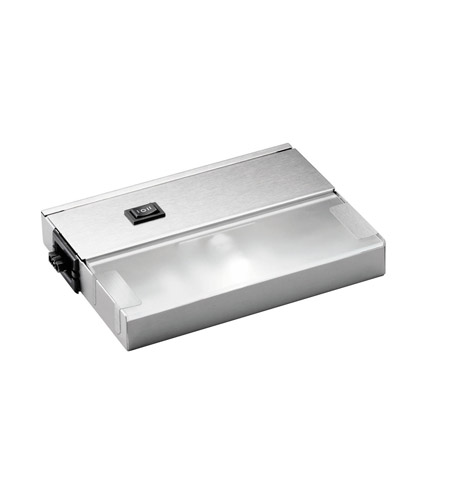 Kichler Lighting Modular 1Lt Xenon 120v/20w Cabinet Strip/Bar Light in Stainless Steel 12211SS