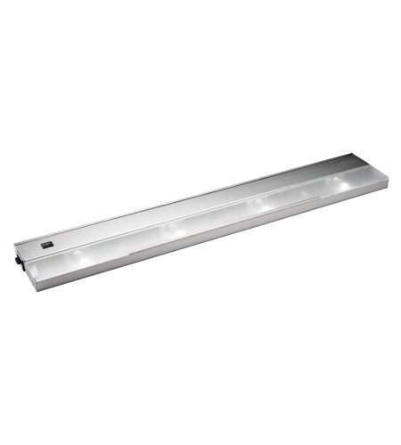Kichler Lighting Modular 4Lt Xenon 120v/20w Cabinet Strip/Bar Light in Stainless Steel 12214SS