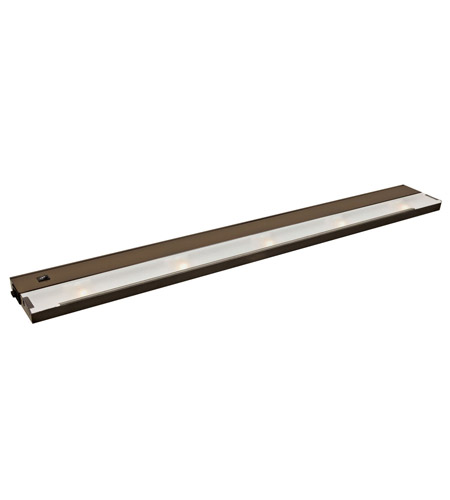 Kichler Lighting Modular 5Lt Xenon 120v/20w Cabinet Strip/Bar Light in Bronze 12215BZ