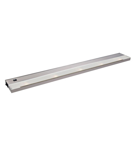 Kichler Lighting Modular 5Lt Xenon 120v/20w Cabinet Strip/Bar Light in Stainless Steel 12215SS