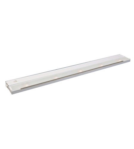 Kichler Lighting Modular 5Lt Xenon 120v/20w Cabinet Strip/Bar Light in White 12215WH