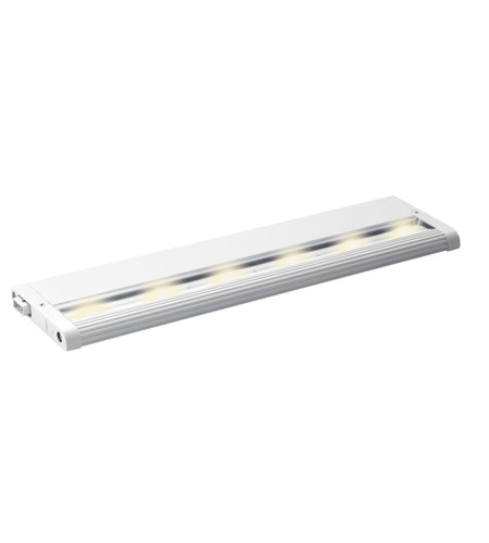 Kichler Lighting Design Pro LED Modular 12Inch Cabinet Strip/Bar Light in White 12303WH