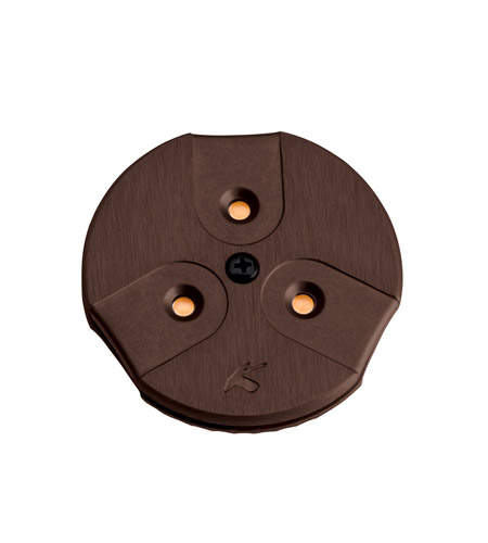 Kichler Lighting LED Puck Light 24v Cabinet Disc/Puck Light in Brushed Bronze 12310BRZ photo
