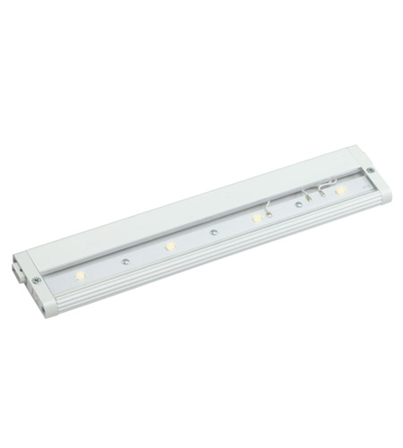 Kichler Lighting Design Pro LED 12inch Cabinet Strip/Bar Light in White 12313WH