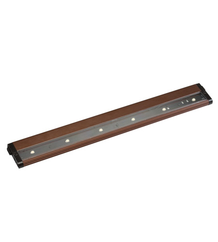 Kichler Lighting Design Pro LED 18inch Cabinet Strip/Bar Light in Brushed Bronze 12315BRZ