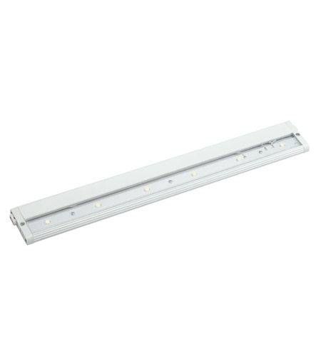 Kichler Lighting Design Pro LED 18inch Cabinet Strip/Bar Light in White 12315WH