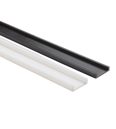 Kichler Lighting Linear Track LED Cabinet Accessory in Black Material 12330BK