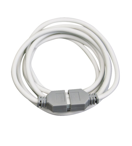 Kichler Lighting Power Supply Lead 8ft (LED) Cabinet Accessory in White Material 12346WH