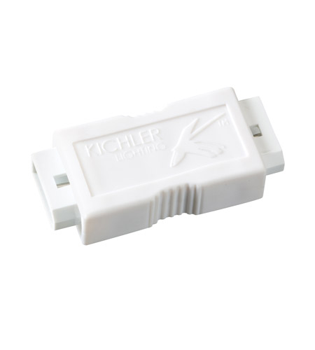 Kichler Lighting Female Connector Cabinet Accessory in White Material 12348WH