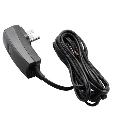 Kichler Lighting Transformer Plug-in 12v/60w Cabinet Accessory in Black (Painted) 12532BK