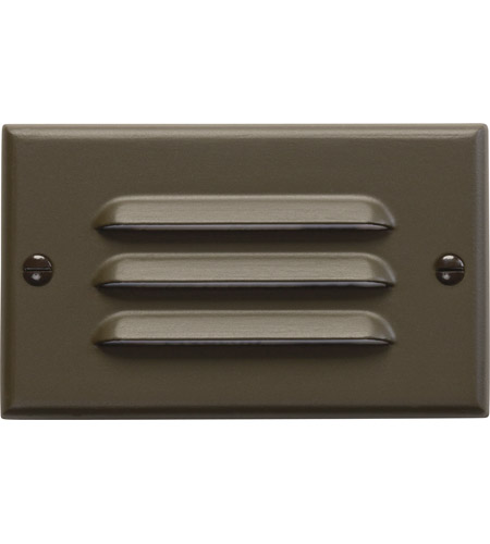 Kichler 12600AZ Step and Hall Lights Architectural Bronze Indoor Step Light, LED, 4.5 inch photo