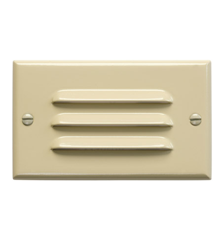 Kichler Lighting LED Step Light Horiz. Louver Cabinet Fixture-Misc Light in Ivory 12600IV