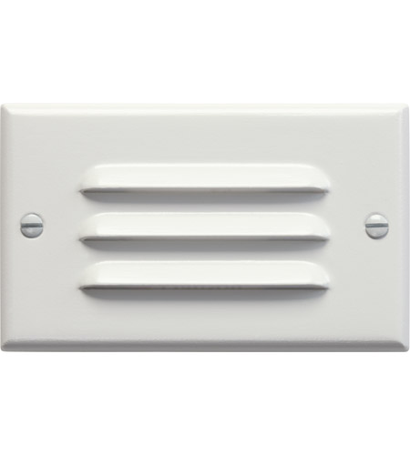 Kichler Lighting LED Step Light Horiz. Louver Cabinet Fixture-Misc Light in White 12600WH