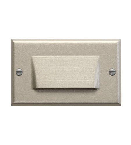Kichler Lighting LED Step Light Shielded Cabinet Fixture-Misc Light in Brushed Nickel 12602NI