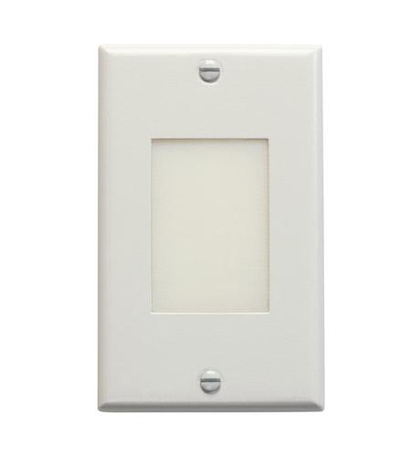 Kichler Lighting LED Step Light Lens Cabinet Fixture-Misc Light in White 12604WH