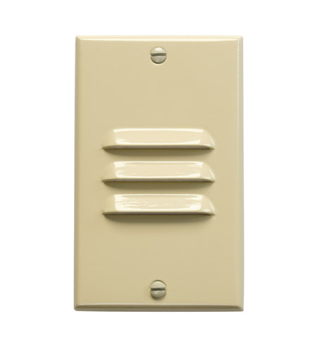 Kichler Lighting LED Step Light Vertical Louver Cabinet Fixture-Misc Light in Ivory 12606IV