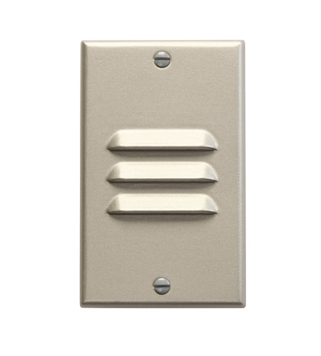 Kichler Lighting LED Step Light Vertical Louver Cabinet Fixture-Misc Light in Brushed Nickel 12606NI