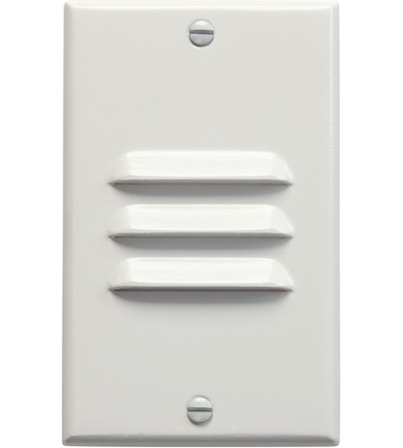 Kichler Lighting LED Step Light Vertical Louver Cabinet Fixture-Misc Light in White 12606WH
