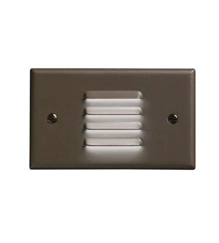 Kichler Lighting LED Step Light Horiz. Louver Cabinet Fixture-Misc Light in Architectural Bronze 12650AZ