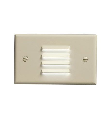 Kichler Lighting LED Step Light Horiz. Louver Cabinet Fixture-Misc Light in Ivory 12650IV