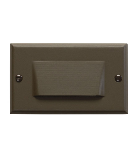Kichler Lighting LED Step Light Shielded Cabinet Fixture-Misc Light in Architectural Bronze 12652AZ