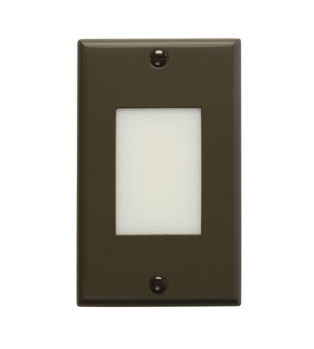 Kichler Lighting LED Step Light Lens Cabinet Fixture-Misc Light in Architectural Bronze 12654AZ