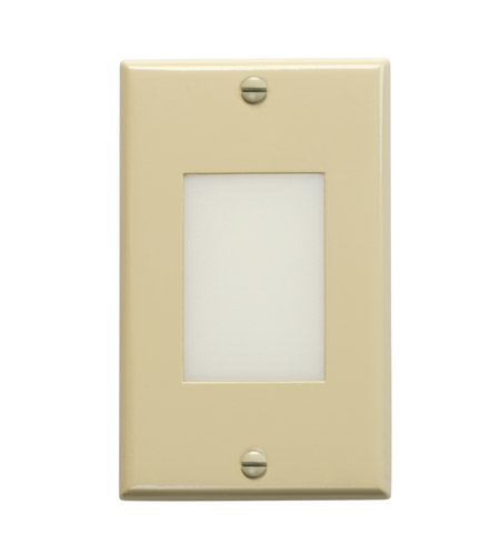Kichler 12654IV Step and Hall Lights Ivory Indoor Step Light, LED, 4.5 inch photo