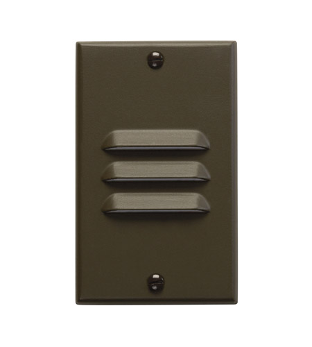 Kichler Lighting LED Step Light Vertical Louver Cabinet Fixture-Misc Light in Architectural Bronze 12656AZ