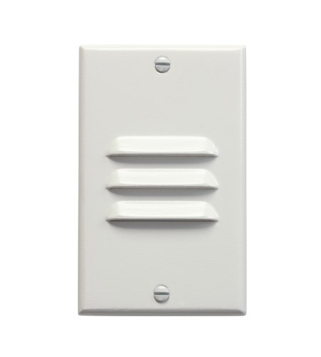 Kichler Lighting LED Step Light Vertical Louver Cabinet Fixture-Misc Light in White 12656WH