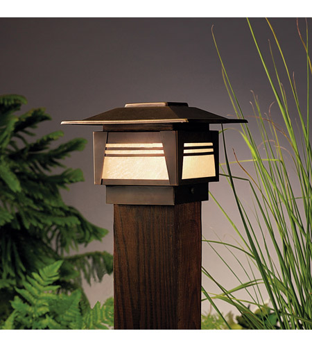 Kichler Lighting Zen Garden 1 Light Landscape 12V Deck in Olde Bronze 15071OZ photo
