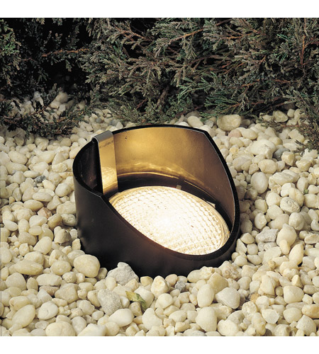 Kichler Lighting Outdoor Low Volt 1 Light Landscape 12V In-Ground in Black Material 15088BK