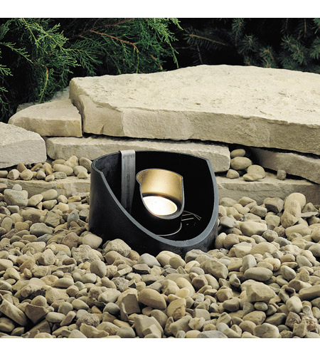 Kichler Lighting Outdoor Low Volt 1 Light Landscape 12V In-Ground in Textured Black 15092BKT