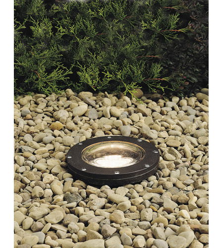 Kichler 15194AZ Landscape 12V 12V 50 watt Architectural Bronze Landscape In-Ground Light photo