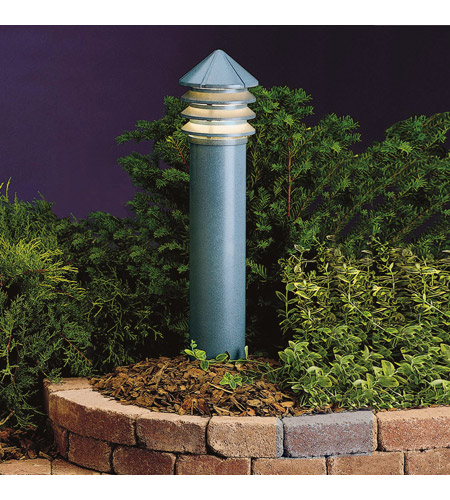 Kichler Lighting Six Groove 1 Light Landscape 120V Path & Spread (Head Only) in Textured Midnight Spruce 15205MST photo