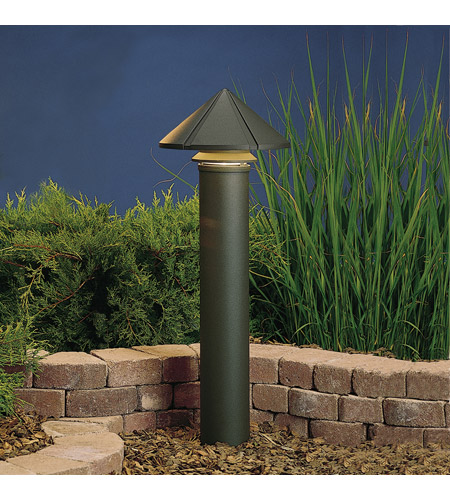 Kichler Lighting Six Groove 1 Light Landscape 120V Path & Spread in Textured Architectural Bronze (Head Only) 15211AZT photo