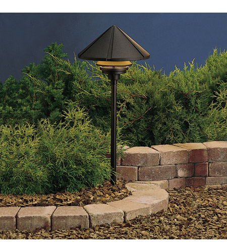 Kichler Lighting Six Groove 1 Light Landscape 120V Path & Spread (Head Only) in Textured Black 15211BKT