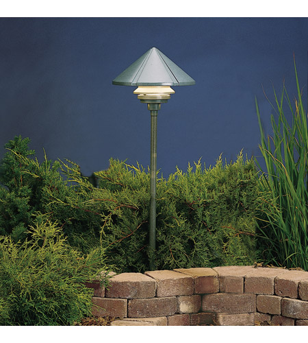 Kichler Lighting Six Groove 1 Light Landscape 120V Path & Spread (Head Only) in Textured Midnight Spruce 15211MST photo